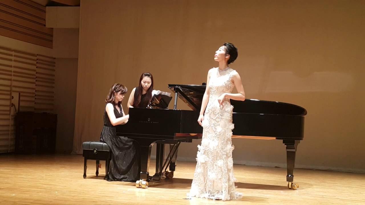 陳靄齡聲樂獨唱會20160611-9 火把節的歡樂 - YouTube