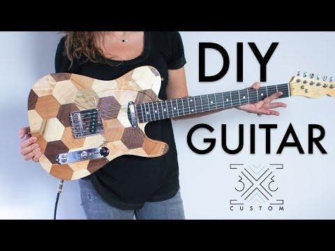 DIY Telecaster Guitar // Woodworking Project // CNC // Guitar Kit