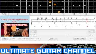 [Guitar Solo Tab] Cherry Pink And Apple Blossom White
