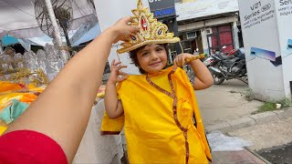 Lucknow Street Shopping for Janmashtami