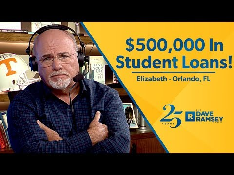 I Have Half a Million Dollars In Student Loan Debt!!