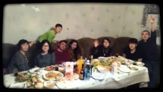 Новый год в кругу семьи 2015-2016