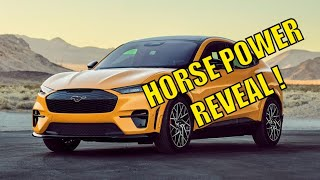 THE TRUE HORSEPOWER NUMBERS OF THE 2021 Ford Mustang Mach E ! Faster than a Ford Mustang GT ?
