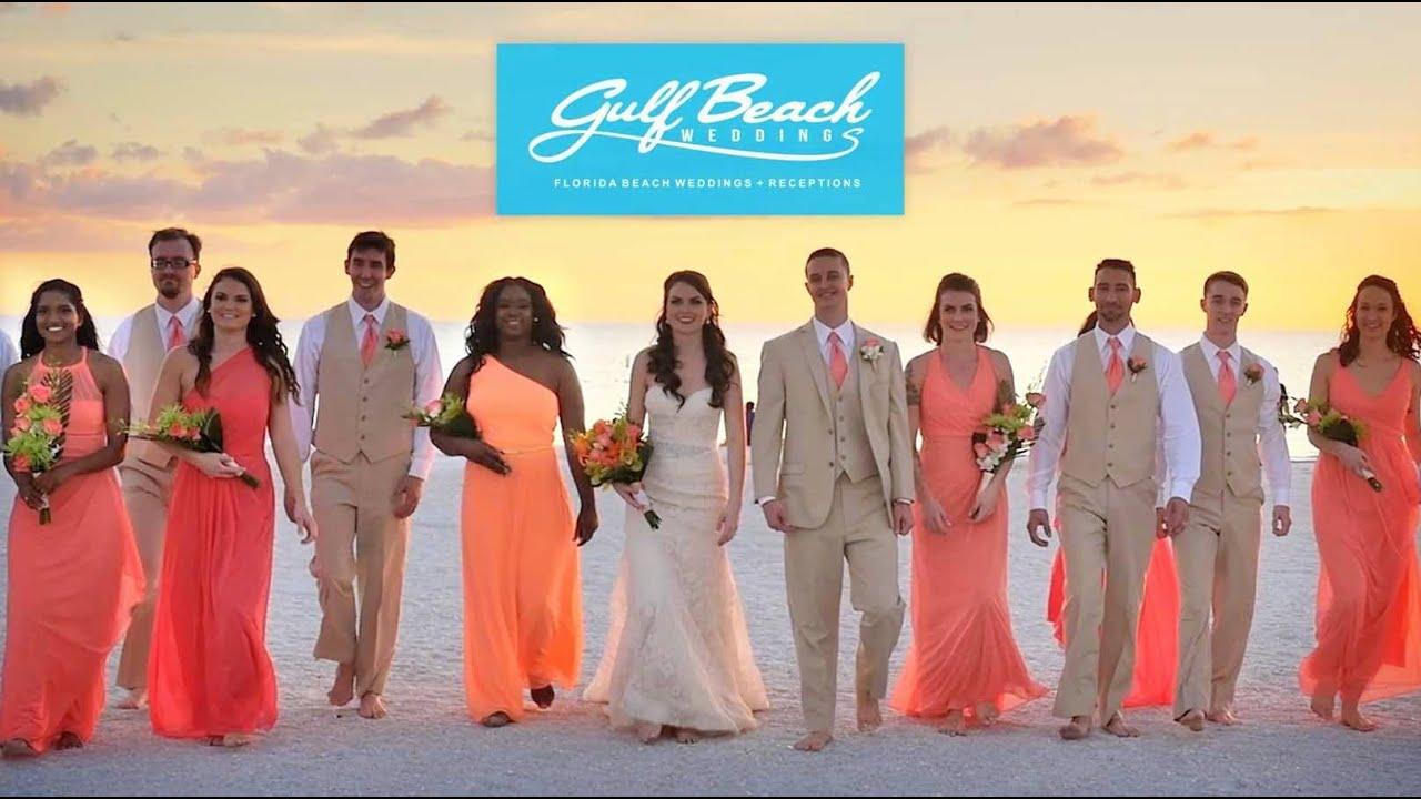 Gulf Beach Weddings - 2017 Here we Come! - YouTube
