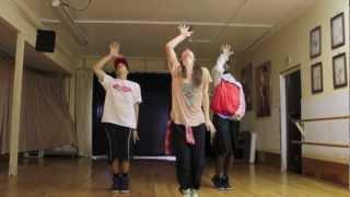 Choreografia taneczna: Miguel Gravity
