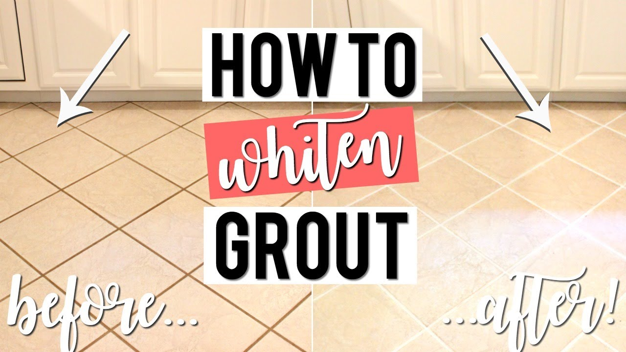 how to whiten grout without scrubbing cheap easy diy