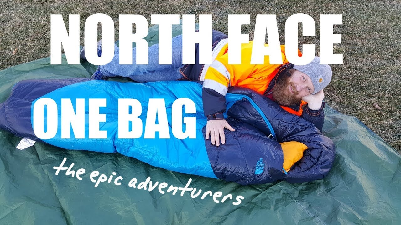 323ef7c6f North Face ONE BAG - Sleeping Bag - Epic Review