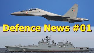 Defence News: #01 India To Buy 18 More Su-30MKI | MoD And GSL Sign Agreement To Make 2 P1135.6 Ship