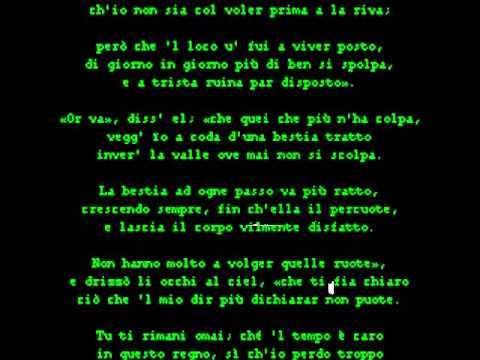 canto XXIV purgatorio