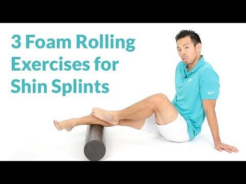 Best Foam Rolling Exercises for Shin Splints