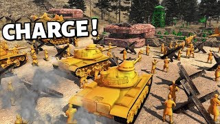 Final Charge OF ValleyPut ! Army Men - Ultra City Defence ! A.M.O.W