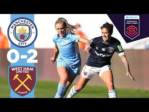 Man City Highlights | City 0-2 West Ham | WSL