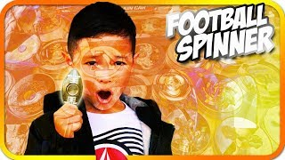 Football FIDGET SPINNER Toy Hunting, First Day of School - TigerBox HD