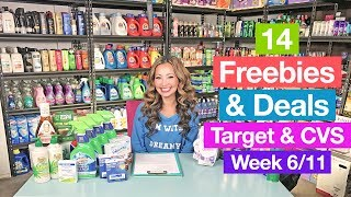 ★ 14 FREEBIES & Deals from Target & CVS (Week 6/11-6/17)