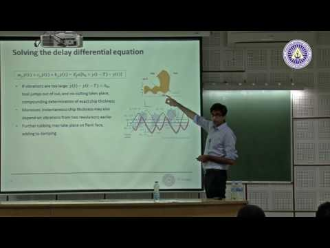 Chatter Models for Turning by Dr  Mohit Law, IIT Kanpur