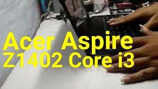 REVIEW Acer Aspire Z1402 Intel core i3 Techno Zone Computer
