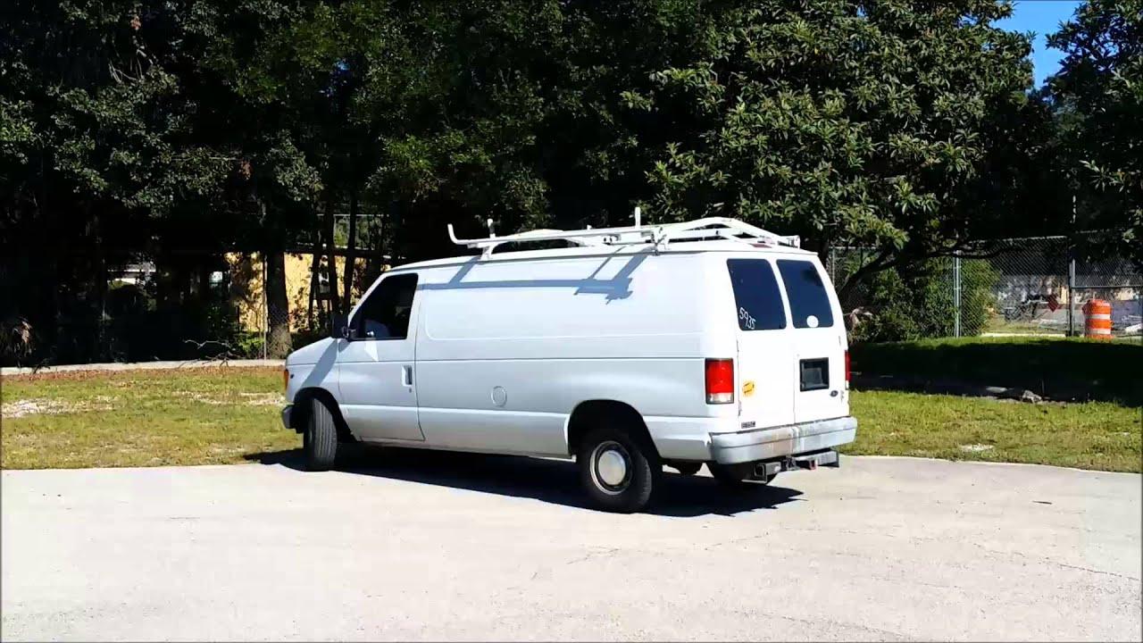 1999 Ford Econoline E150 4 6l V8 Sohc 16v White Van