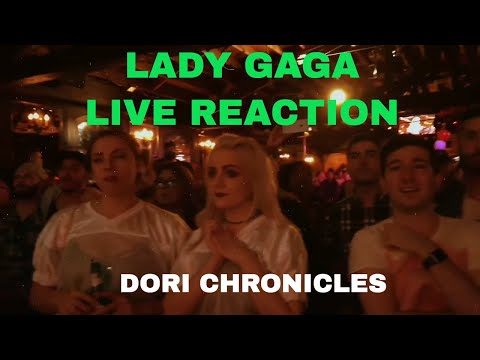 Epic live reaction to Lady Gaga