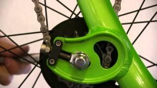 How to adjust the chain tension on an ElliptiGO elliptical bike