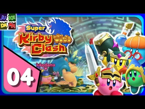 Super Kirby Clash MULTIPLAYER Episode 4: Party Quests! (4 Player / Switch)