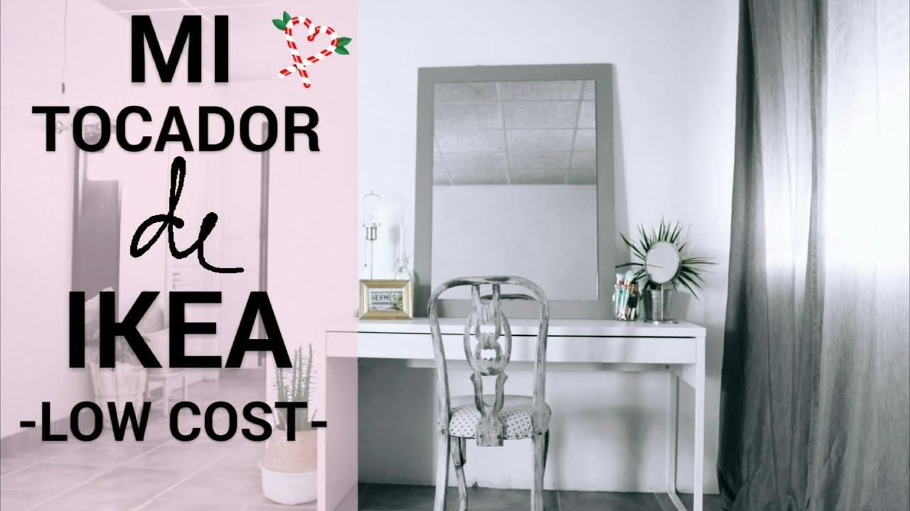Mesa Despacho Ikea Blanca.Tocador De Ikea Low Cost