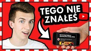 9 NOWYCH, UKRYTYCH FUNKCJI YouTube'a! ◉_◉