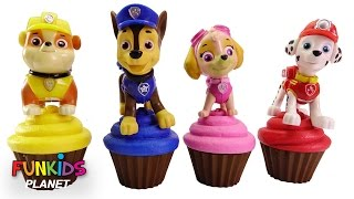 Best Learning Videos for Children: Paw Patrol Skye & Chase Cupcakes Icing, Sprinkles & Toy Microwave