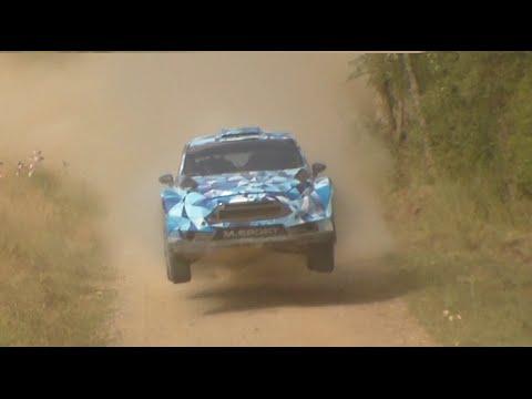 Test Ford Fiesta WRC 2017 | Ott Tanak & Eric Camilli | Spain