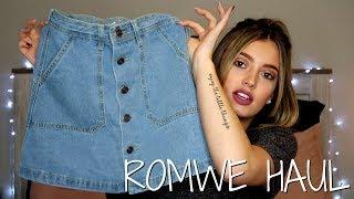 ROMWE CLOTHING HAUL | TRY ON