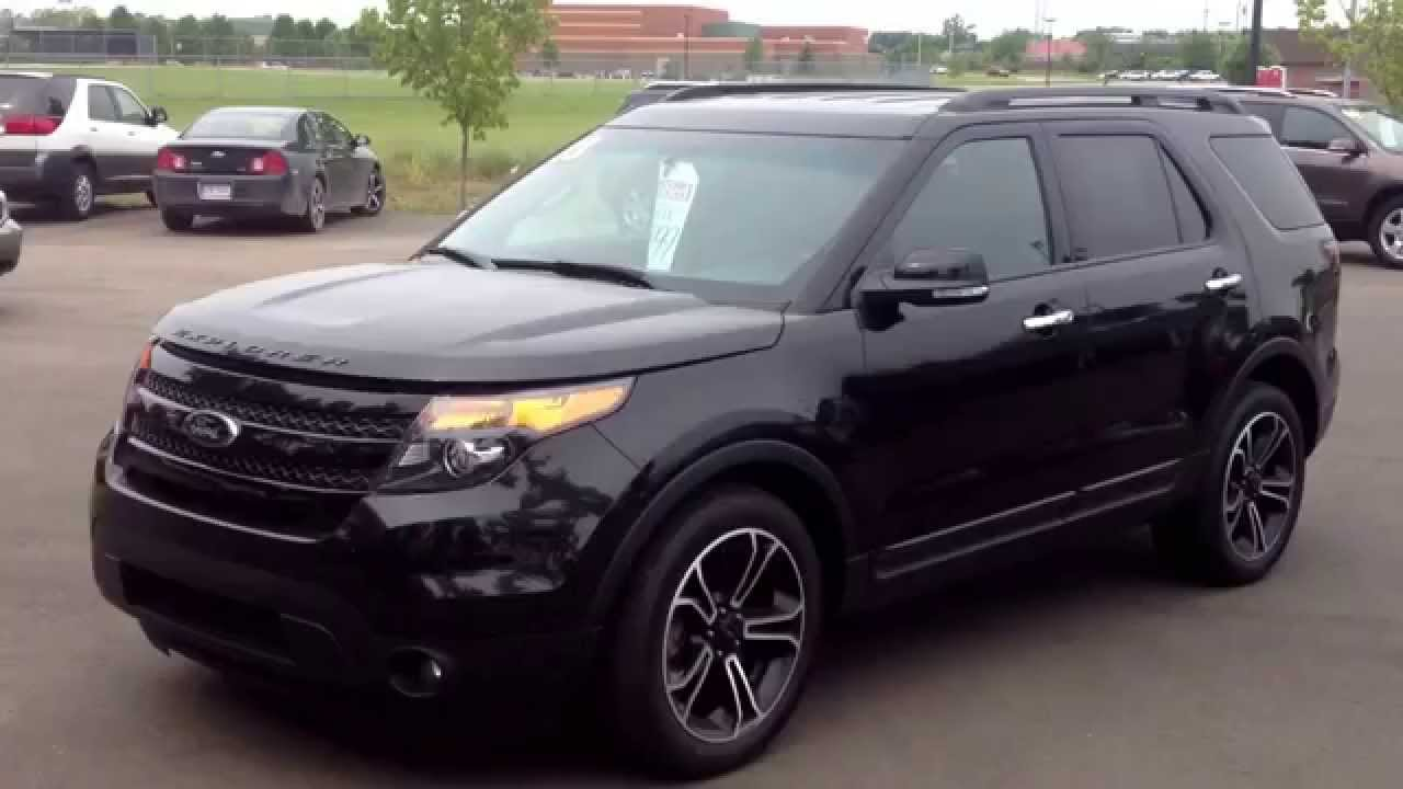 2013 certified ford explorer sport 4wd 3 5l ecoboost for sale at lasco ford in fenton michigan youtube