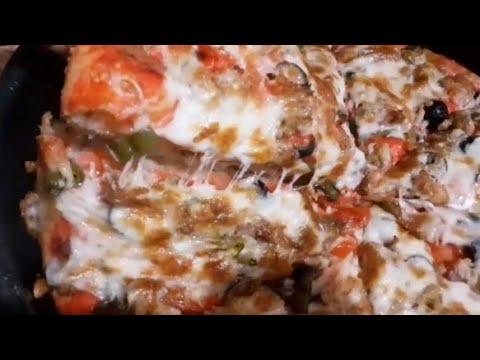 صورة  طريقة عمل البيتزا طريقه عمل البيتزا بكل اسرارها فى المطاعم والنتيجه مضمونه 100% Pizza Hut طريقة عمل البيتزا من يوتيوب