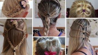 13 Easy Hairstyles  | PROSTE ŁATWE SZYBKIE FRYZURY