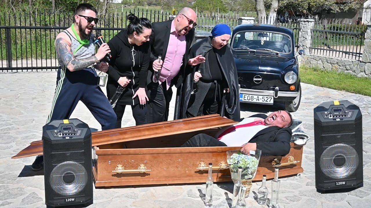 Bosanske seljačine na sahrani