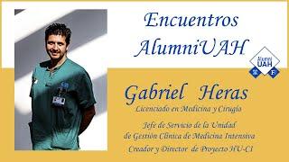 Encuentros AlumniUAH · Gabriel Heras