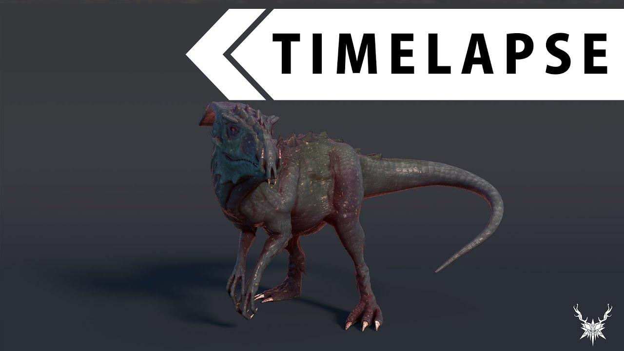 Free 3d Dinosaur Wallpaper Creature Creation 5 Modeling Sculpting Texturing