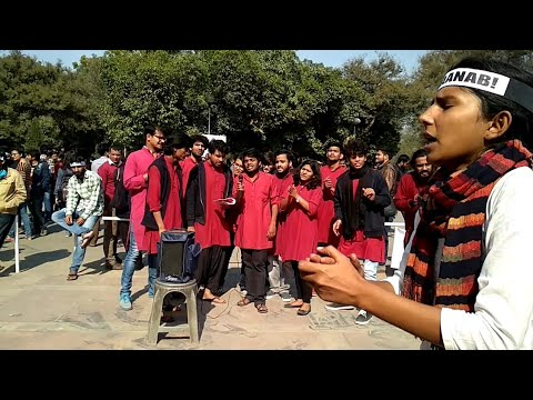 """""""Bhojpuri Song by JNU Students"""" Best Ever Protest Video"""
