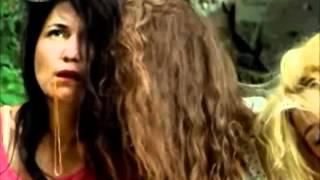 Leyla ile Mecnun 25 bolum    kizlarin kavgasi