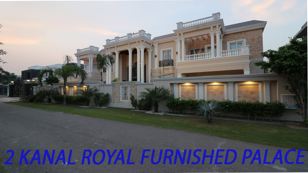 2 KANAL ROYAL CLASS FURNISHED VICTORIAN PALACE | ROYAL CLASS LIVING SOCIETY DHA LAHORE | 23.00 CRORE