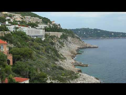 Enjoy The View - Cap De Nice and Palais Maeterlinck - French Riviera - 4K