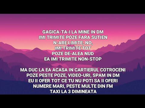 5GANG - DM feat. LINO GOLDEN (VERSURI LYRICS)