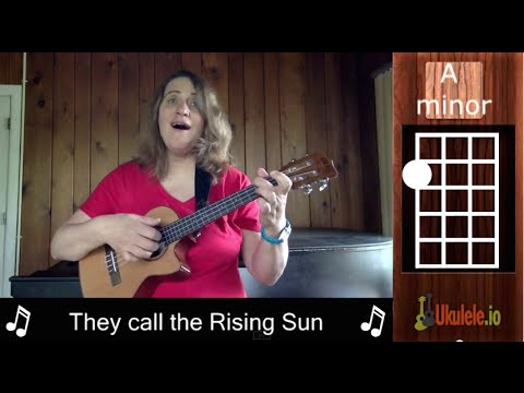 Ukulele tabs house of the rising sun