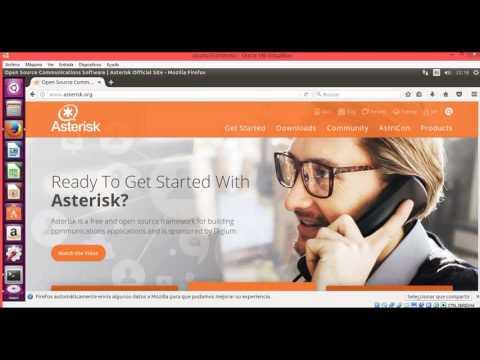 Instalacion Asterisk en Linux Ubuntu