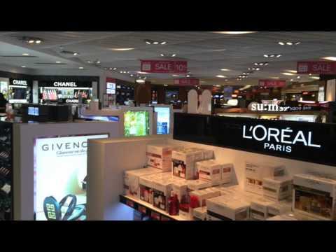The Moodie View Lotte Duty Free A.B. Won Pat International Airport, Guam, Fragrances & Cosmetics
