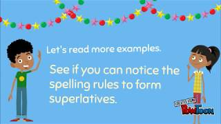 Superlatives︳Superlative Adjectives ︳English for Kids ︳Grammar for Kids