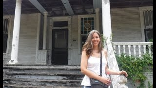 Metal Detecting: LaFayette House w/my Bride