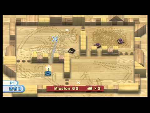 Wii Play - Tanks - Missions 1-100 Complete