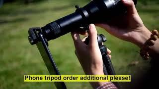 스마트폰망원경 휴대폰 줌 고배율 망원 렌즈 확대경