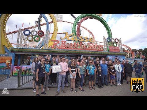 30 Jahre Olympia Looping (Barth) Auf Crange Beim FKF Kirmes Event 2019