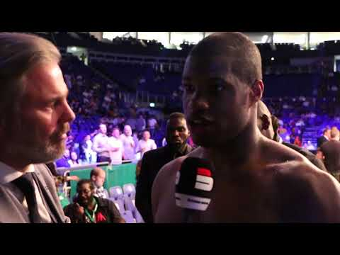 DANIEL DUBOIS REACTS TO TOM LITTLE KNOCKOUT WIN - DISCUSSES FUTURE IN HEAVYWEIGHT DIVISION