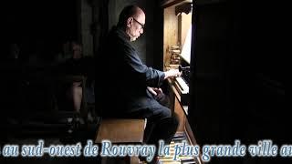 Concert d'orgue avec son et lumière à Saint-Andeux (21)